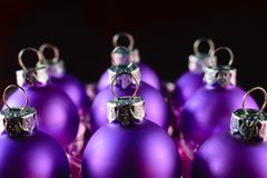 圣诞节查出的装饰品 图库摄影
