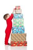圣诞节栈 免版税库存照片