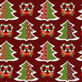 圣诞节样式-例证 图库摄影