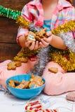 圣诞节桂香成份其他香料停留甜香草 儿童梦想生活 图库摄影