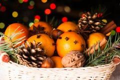 圣诞节桂香成份其他香料停留甜香草 免版税库存照片