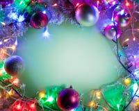 圣诞节框架。 免版税库存照片