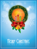 圣诞节框架向量 免版税库存照片