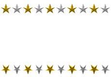 圣诞节框架星形 向量例证