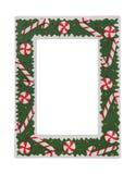 圣诞节框架照片 免版税图库摄影