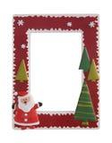 圣诞节框架照片 图库摄影