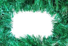 圣诞节框架绿色 免版税库存图片