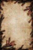 圣诞节框架葡萄酒 免版税图库摄影