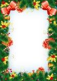 圣诞节框架 向量例证