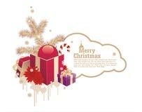 圣诞节框架 免版税库存图片