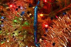 圣诞节棒棒糖冰柱 库存图片