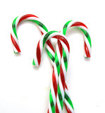 圣诞节棒棒糖 免版税图库摄影