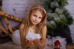 圣诞节概念查出的新的空白年 免版税库存照片