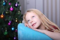 圣诞节概念查出的新的空白年 库存照片