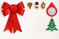 圣诞节概念的图片在白色背景的 2009前夕新年度 库存图片