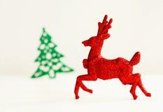 圣诞节概念的图片在白色背景的 2009前夕新年度 免版税库存照片