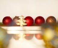 圣诞节概念的图片在白色背景的 2009前夕新年度 图库摄影