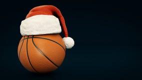 圣诞节概念 Orange korgboll 免版税图库摄影