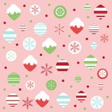 圣诞节模式 库存照片