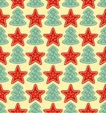 圣诞节模式 免版税图库摄影