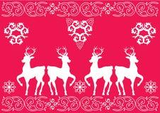 圣诞节模式 免版税库存图片