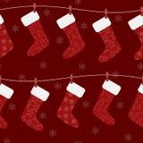 圣诞节模式 库存图片