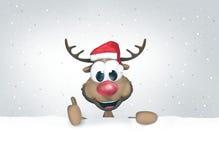圣诞节欢乐感觉 库存照片