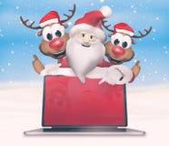 圣诞节欢乐感觉 免版税库存图片