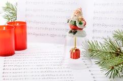 圣诞节歌曲 库存图片