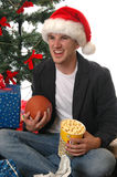 圣诞节比赛 库存图片