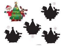 圣诞节比赛 免版税图库摄影