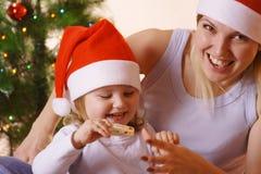 圣诞节比赛 免版税库存照片