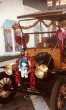 圣诞节汽车 免版税图库摄影
