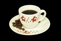 圣诞节浓咖啡咖啡 免版税图库摄影