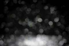 圣诞节海军闪烁闪闪发光的黑背景 抽象bo 免版税库存图片