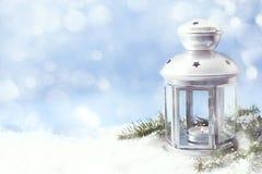 圣诞节灯笼 免版税库存照片