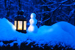 圣诞节灯笼 图库摄影