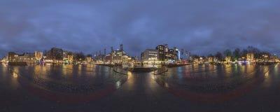 圣诞节照明在汉诺威 免版税图库摄影