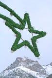 圣诞节照明 免版税图库摄影