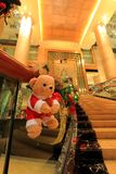 圣诞节熊 免版税库存图片