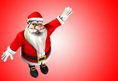 圣诞节父亲 免版税库存照片
