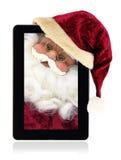 圣诞节片剂 免版税库存图片