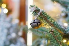 圣诞节玩具响铃 免版税库存照片