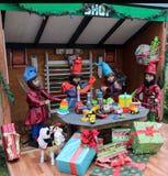圣诞节玩具商店 图库摄影