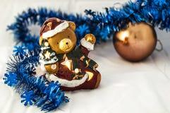 圣诞节玩具熊 库存照片