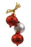 圣诞节玩具的装饰 库存照片