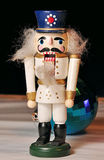 圣诞节玩具胡桃钳 免版税库存照片