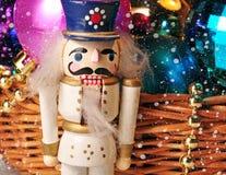圣诞节玩具胡桃钳 图库摄影