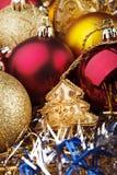 圣诞节玩具 免版税库存照片