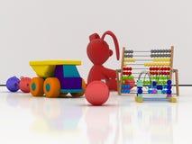 圣诞节玩具 库存例证
